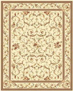 Safavieh LNH322A Lyndhurst Collection Ivory Area Rug, 5 Feet 3 Inch by 7 Feet 6 Inch   Runners