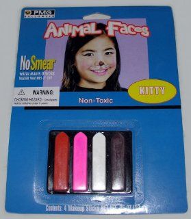 Animal Faces   Kitty   No Smear Makeup Kit Toys & Games