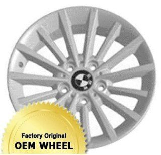 BMW 323,328,335,3 SERIES 17X8 15 SPOKE Factory Oem Wheel Rim  SILVER   Remanufactured Automotive