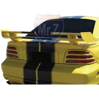 1994 1998 Ford Mustang Custom Spoiler Saleen Double Deck Style (Unpainted) Automotive