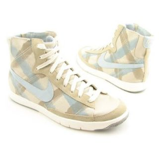 NIKE Blazer Mid Tan Sneakers Shoes Womens Size 10 Shoes
