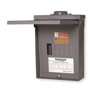 Schneider Electric Load Center, 100 Amp, 12 Pole, 6 Circuit, QO612L100RB