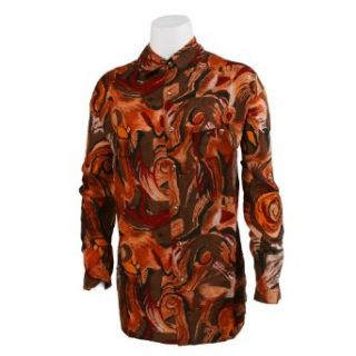 Men's Silk Shirt Clothing