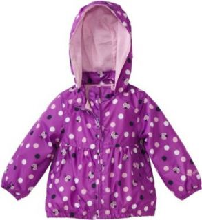 Osh Kosh Baby girls Infant Windbreaker Jacket, Grape, 12 Months Clothing