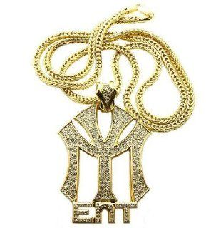 LIL'WAYNE DRAKE NICKI Young Money Chain Pendant Gold Jewelry