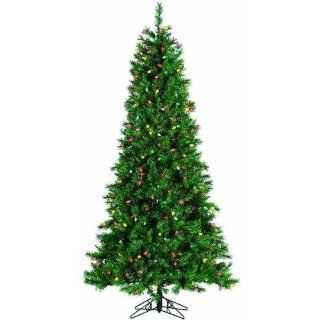 Retro Pine Artificial Christmas Tree Size 7.5' (350 Lights)