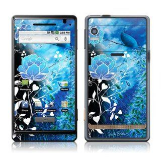 Peacock Sky Design Protective Skin Decal Sticker for Motorola Droid Cell Phone Cell Phones & Accessories