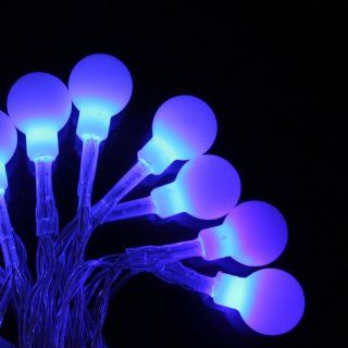 Innoo Tech**4M 40 Battery operated LED Fairy string lights ball styled for Christmas, Partys, Wedding, New Year Decorations, etc(Blue)   Lawn And Garden Tool Gas Cans