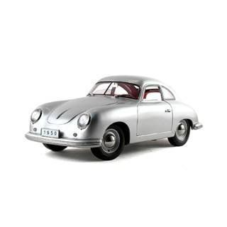 1950 Porsche 356 Coupe Silver 1/18 Diecast Model Toys & Games