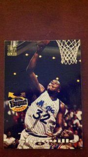 1993 94 Topps Stadium Club Basketball Frequent Flyers Upgrade #358 Shaquille O'Neal Orlando Magic NBA Trading Card