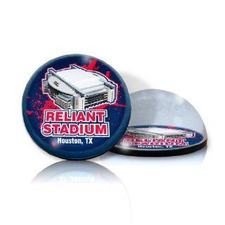 "NFL Houston Texan stadium in 2"" Crystal magnet with Colored Window Gift Box  Sports Related Magnets  Sports & Outdoors"