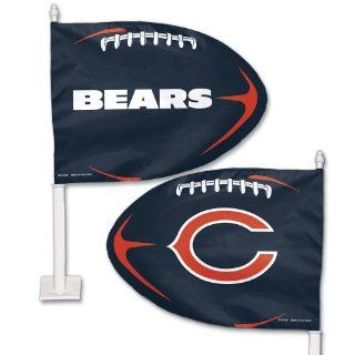 Chicago Bears Car Flag   NFL Fan Gear   Tailgating Supplies and Gifts Sports & Outdoors