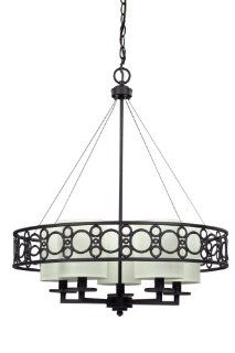CANARM LTD. ICH374A05ORB24 Tucker 5 Bulb Chandelier Light, Oil Rubbed Bronze