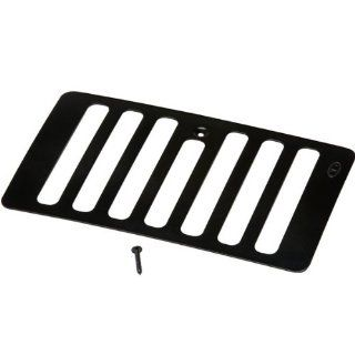 Kentrol Black Stainless Steel Hood Vent 1998 2006 Jeep Wrangler TJ & Unlimited TJL # 50500