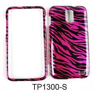 CELL PHONE CASE COVER FOR SAMSUNG GALAXY S II SKYROCKET I727 TRANS HOT PINK ZEBRA PRINT Cell Phones & Accessories