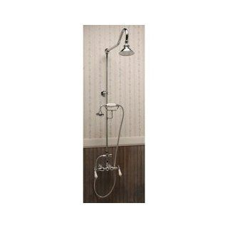Randolph Morris Exposed Wall Mount Shower System RM679C Chrome   Bathtub And Showerhead Faucet Systems