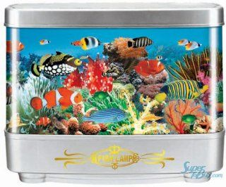 Aquarium Seabed Motion Fish Lamp Night Light   Tropical Fish (Size S)