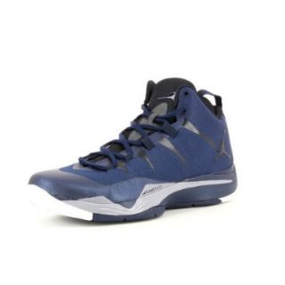 Men's Nike Jordan Superfly 2 599945 403 Midnight Navy Black Cement Grey White Basketball Shoe Shoes