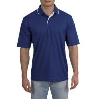Sport Shirt with Striped Collar (Regular and Big & Tall Sizes) Clothing