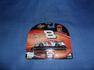 Dale Earnhardt Jr. 2004 NASCAR Winner's Circle #8 Bud Born on Date Daytona 500 Chevy Monte Carlo 1/64 Diecast . . . Includes Stand and is Raced Version Toys & Games