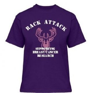Rack Attack   Purple Gildan Misses Relaxed Fit Cotton T Shirt Clothing