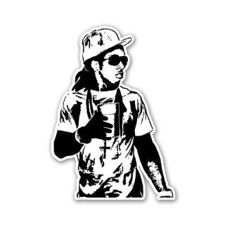 Lil Wayne BW Young Money Cash Money YMCMB Car Sticker Decal Phone Small 3""