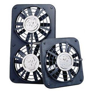 "Flex a lite 220 Black Low Profile 12"" Dual Fan Automotive"