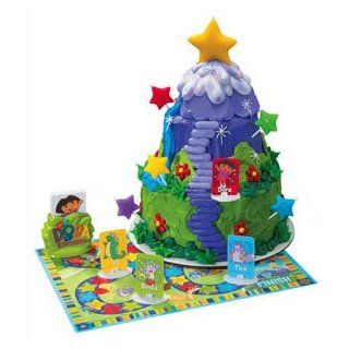Dora Star Adventure Game & Cake Topper Set Kitchen & Dining