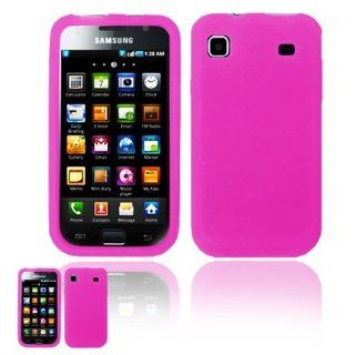Samsung T959 Vibrant Hot Pink Silicone Case Cell Phones & Accessories