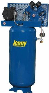 Jenny Compressors GC5A 60V 115/1 5 HP 60 Gallon Tank 1 Phase 115 Volt, Vertical Electric Single Stage Stationary Compressor