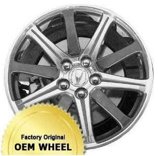 ACURA TL 19x8 10 Spoke Factory Oem Wheel Rim  MACHINED FACE GREY   Remanufactured Automotive