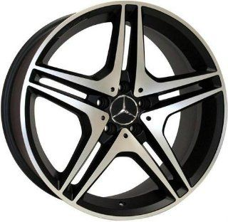 "22"" Wheels for Mercedes Benz ML ML430 ML500 GL GL450 AMG style set of 4 rims & caps and lugs Automotive"