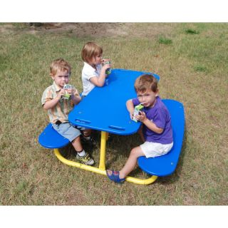 Kidstuff Playsystems, Inc. Kids Rectangle Tot Picnic Table