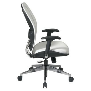 Office Star Products Vinyl Back and Seat Managers Space Deluxe Office