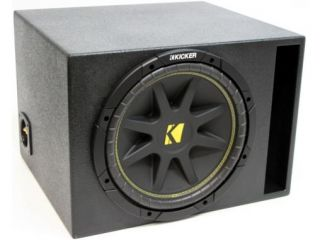 KICKER 10 PORTED LOADED SUB C10 SUBWOOFER ENCLOSURE NEW