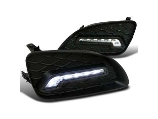 Toyota Camry Front Bumper Fog Light Led Drl Daytime Running Light Kit