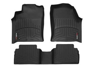 2013 2014 Jeep Grand Cherokee Black Weathertech Floor Liner (Full Set)