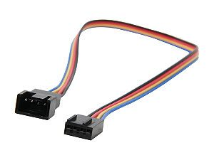 "StarTech FAN4EXT12 12"" 4 Pin Fan Power Extension Cable   M/F M F"