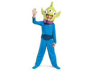 Toy Story 3 Alien Classic Costume Child Small