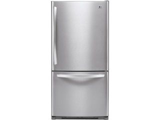 22.4 cu. ft. Bottom zer Refrigerator with 4 Split Cantilevered Glass Shelves, 5 Design A Door Bins, Ice Maker, IcePlus Accelerated zing and Pull Out zer Door: Stainless Steel