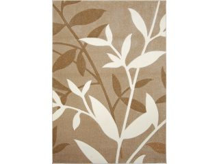 "Home Dynamix Sumatra Area Rug 4342A 150 Beige Branches Leaves 2' 8"" x 4' 8"" Rectangle"