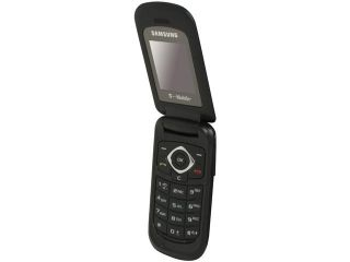 Samsung T139 Black Unlocked GSM Flip Phone w/ 10 Days Standby Time (SGH T139)