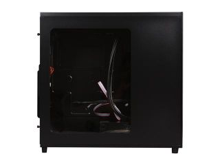 SilverStone Temjin Series SST TJ04B EW Black Aluminum front panel, steel body ATX Mid Tower Computer Case