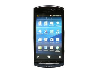 "Sony Xperia neo V Blue 3G Unlocked GSM Android Phone w/ Android OS 2.3 / Wi Fi / 3.7"" Touchscreen / 5.0 MP Camera"