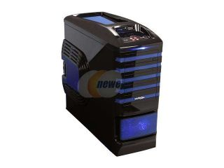 Sentey Extreme Division GS 6500B Burton Blue Tower Case 6x Fan LED/ 4 x USB / Multi Card Reader / 4 x Fan Control / E SATA / 6 x Removable Aluminum Bays / Screwless