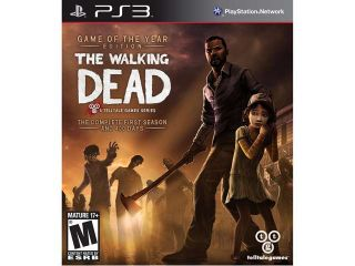 The walking dead: game of the year edition PlayStation 3 Telltale Games