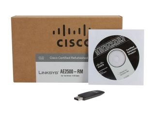 Linksys AE2500 RM USB 2.0 High Performance Wireless N Adapter