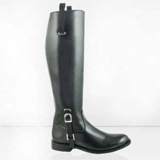 ED Men Dressage Boots Tall Horse back Riding Black Shoes