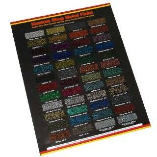 144 Restoration Shop COLOR CHART AUTO/CAR PAINT CHIPS